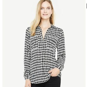 🔥Houndstooth Blouse